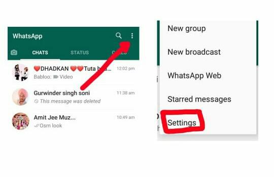 Whatsapp में Fingerprint Lock Enable कैसे करे,whatsapp fingerprint lock enable kaise kare