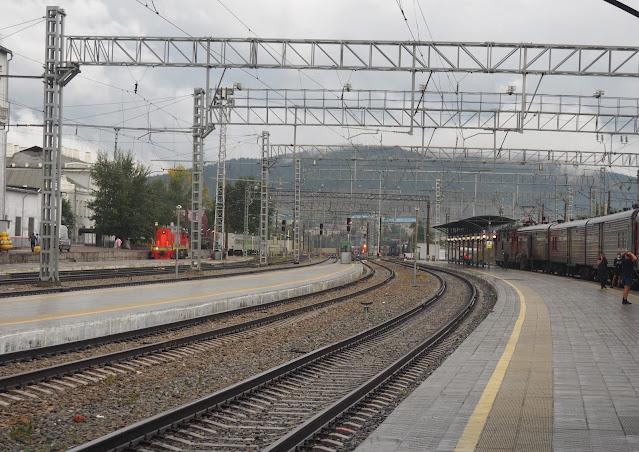 Станция в Чите