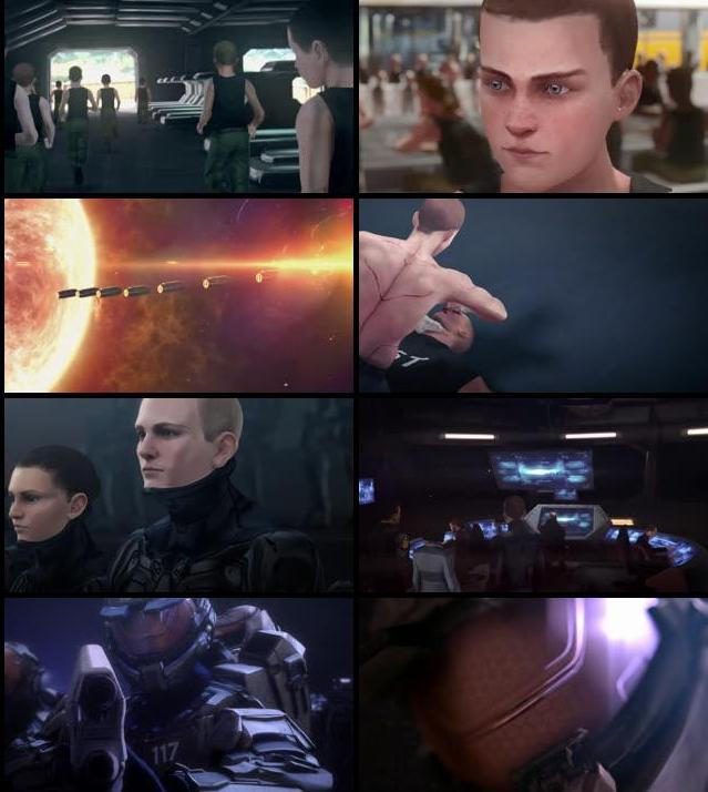 Halo The Fall of Reach 2015 English 720p BluRay