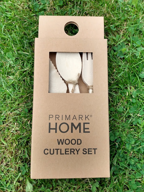Primark wood cutlery set