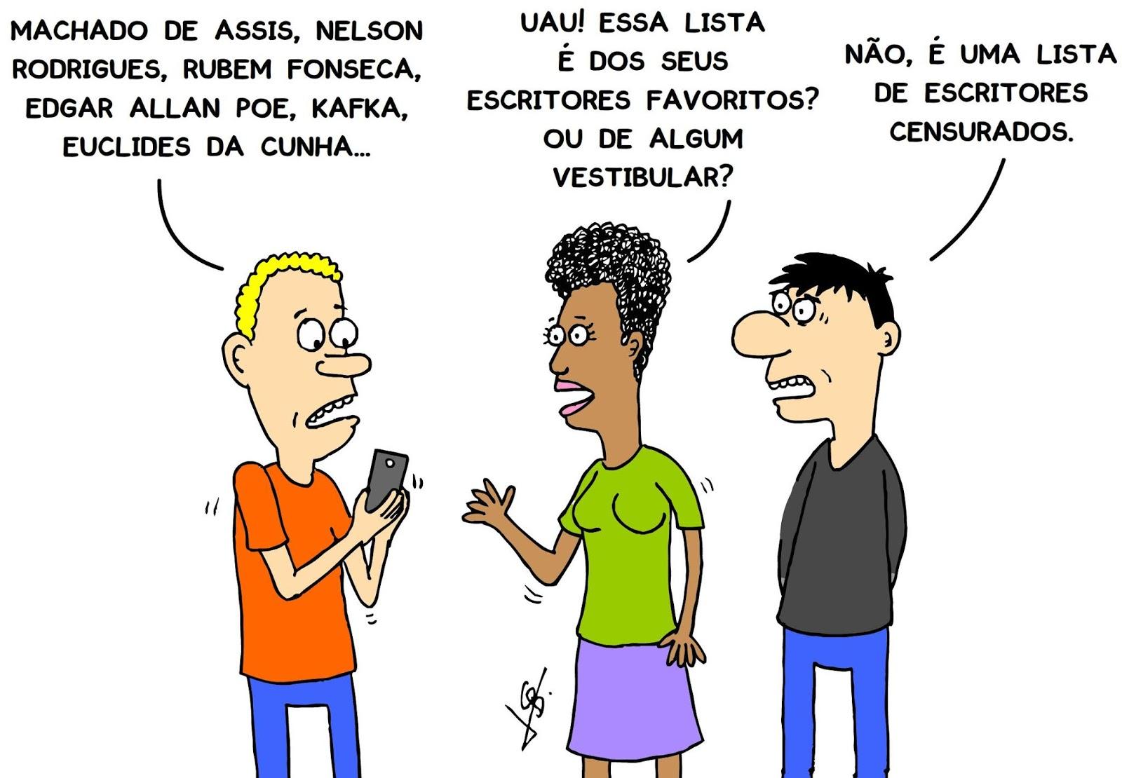Censores nunca leram Machado de Assis