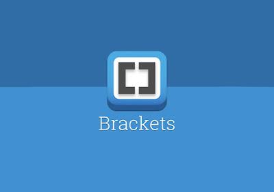 brackets text editor logo