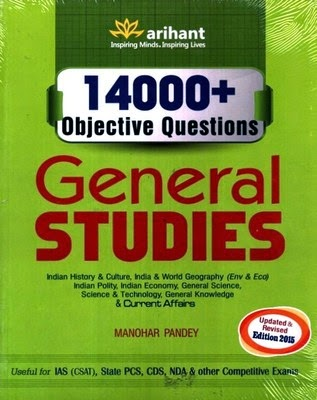http://www.flipkart.com/14000-objective-questions-general-studies-english-3rd/p/itmdx9g3tb3jhec6?pid=9789351417958&affid=angrish10g
