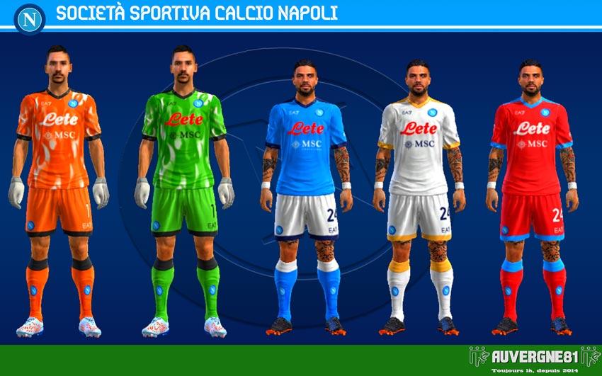 Kits Napoli 2021-2022 For PES 2013