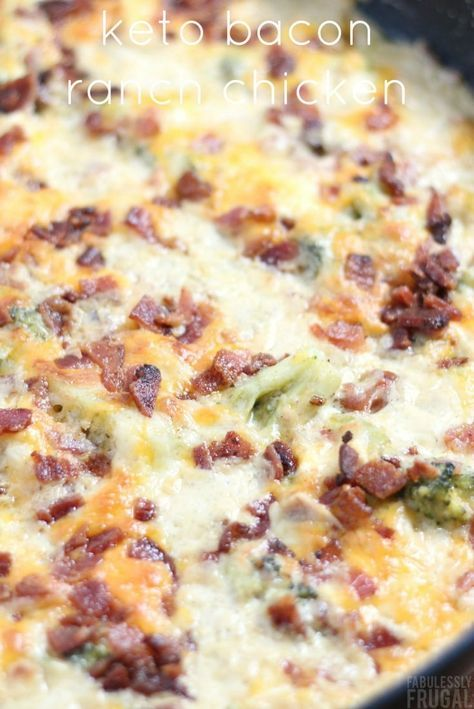 Quick Keto Chicken Recipe with Bacon and Ranch #recipes #dinnerrecipes #funrecipestomakefordinner #food #foodporn #healthy #yummy #instafood #foodie #delicious #dinner #breakfast #dessert #lunch #vegan #cake #eatclean #homemade #diet #healthyfood #cleaneating #foodstagram