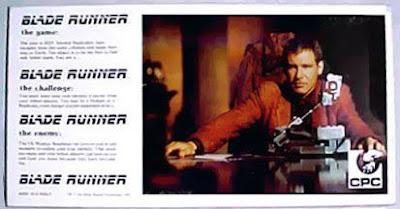 Blade Runner. gioco da tavolo