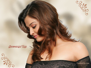Aishwarya Rai Side Face