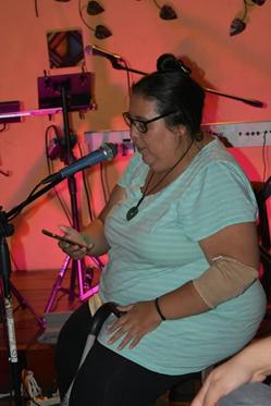 Escritora guatemalteca Ruth Vaides