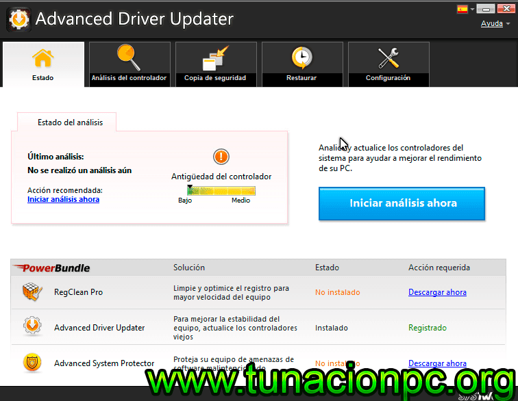 Descargar SysTweak Advanced Driver Updater