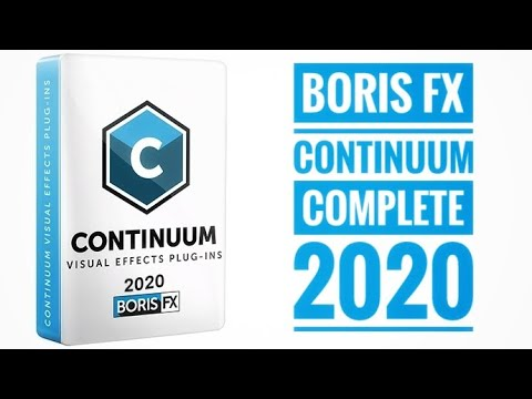 Continuum Complete 2020 13.5[Boris FX][Plugin][MAC]