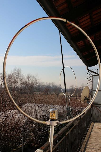 antenna loop autocostruita