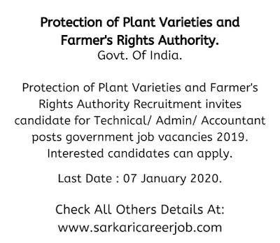 ppvfra government job vacancies 2019