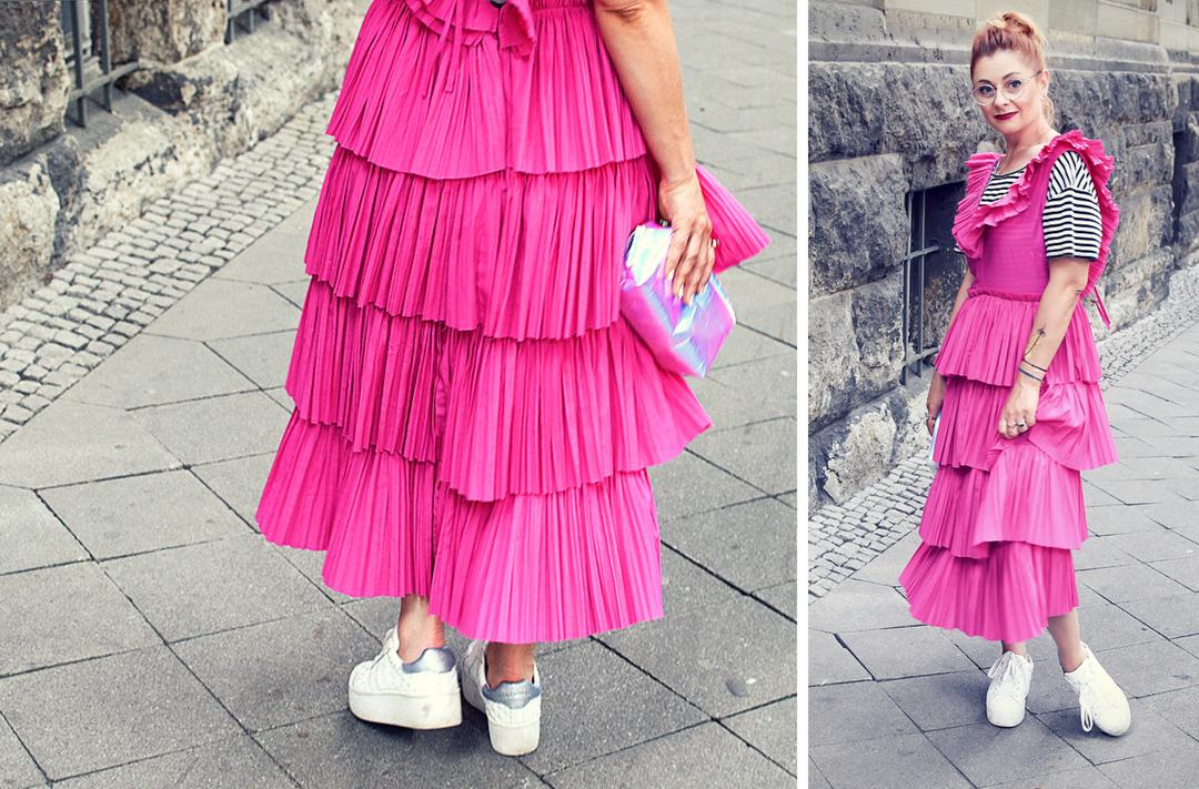 so trägst Du weiße Sneaker, weiße Sneaker zu Kleid kombinieren