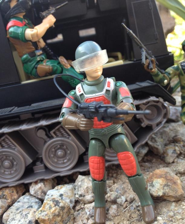 1983 Flash, Laser Trooper, Stalker, 1984 Mutt, 2002 Night Rhino