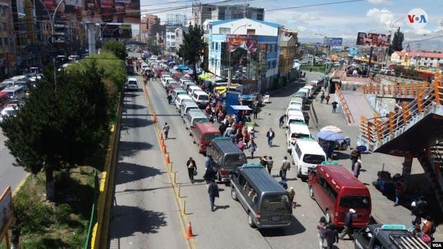 La normalidad ha regresado a la población de El Alto, Bolivia