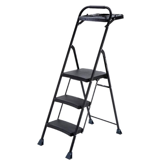 Aluminum Step Ladder with Tray