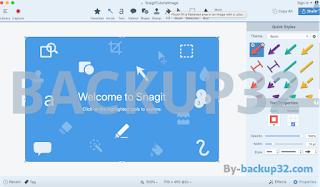 تحميل برنامج سانجيت snagit لتصوير الشاشة وعمل الشروحات بطريقه إحترافية2
