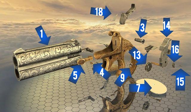 pieces derringer remington