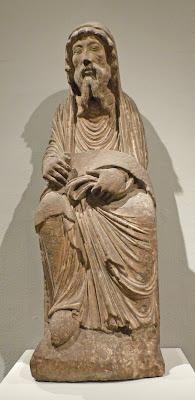 ROMÁNICO EN NUEVA YORK. THE MET. El sacerdote Aarón
