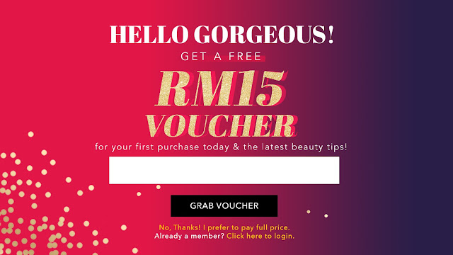Hermo Malaysia Free RM15 Voucher