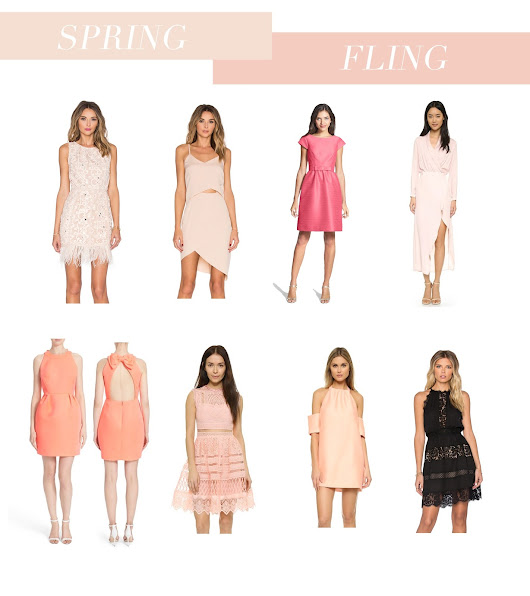Spring Fling :: The Perfect Spring into Summer Dresses