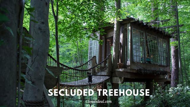 secluded treehouse atlanta georgia