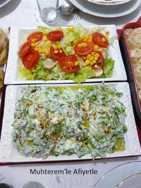 iftar için salata tarifleri