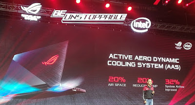 Active Aero Dynamic Cooling System