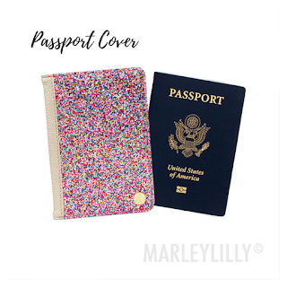Confetti Passport Cover