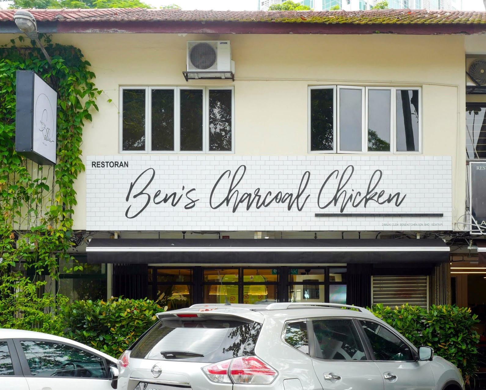 ben's charcoal chicken, bangsar