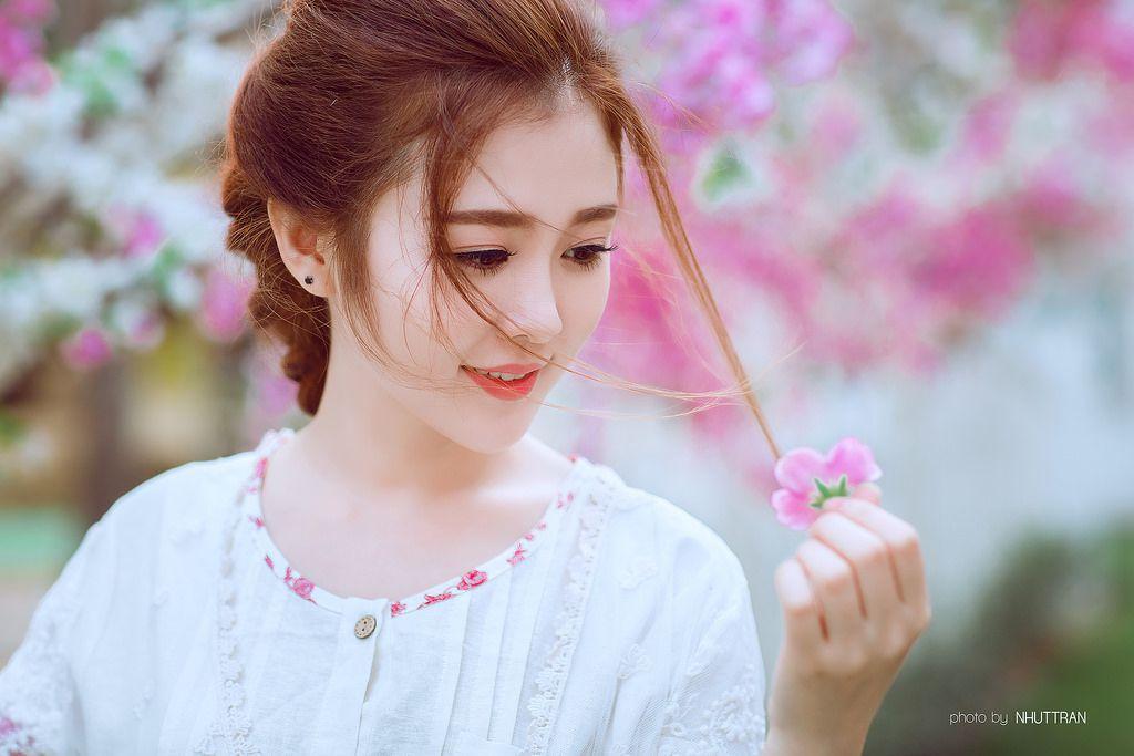 Ngắm ảnh Cực Xinh Của Hot Girl Ribi Sachi toát nên vẻ đẹp dịu dàng của con gái Việt Nam