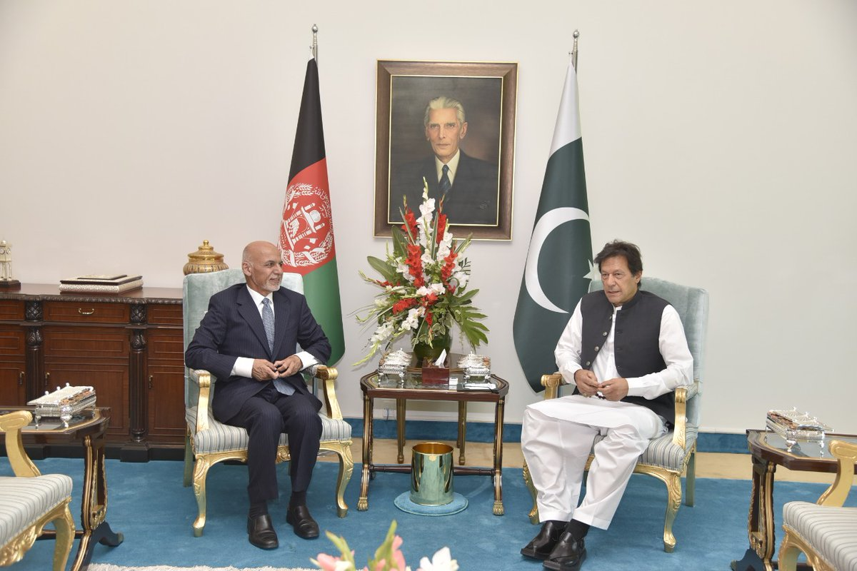 Afghanistan seeks to promote Trade and Connectivity with Pakistan: Afghan President Ashraf Ghani