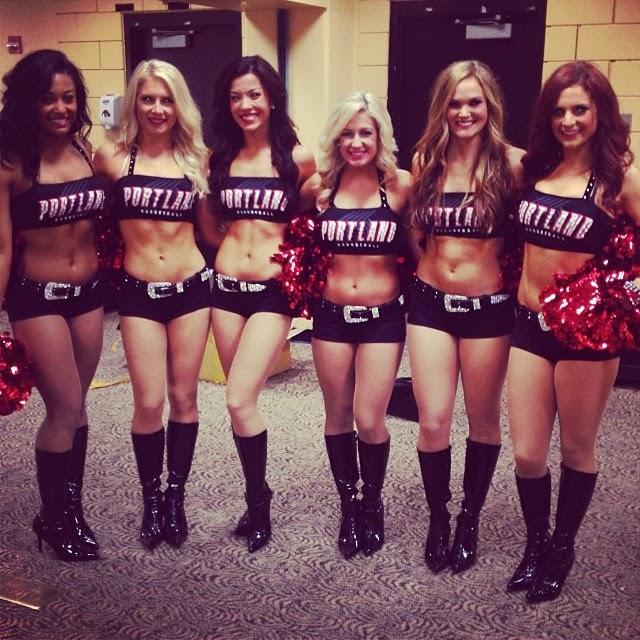 Portland Trail Blazers Roster 2014: Pro Cheerleader Heaven: Portland Trail Blazers Cheerleaders