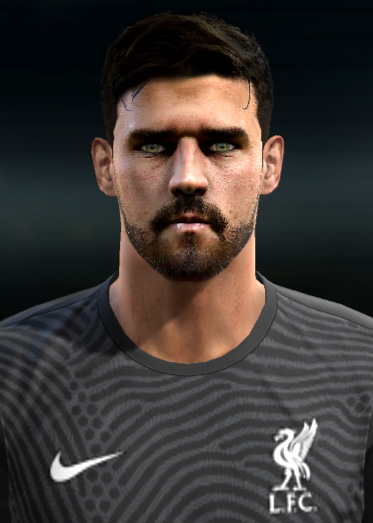 Faces Alisson Becker For PES 2013 PC
