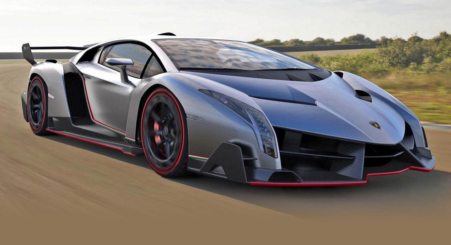 the expensive car 2015: lamborghini veneno ($4.5m)