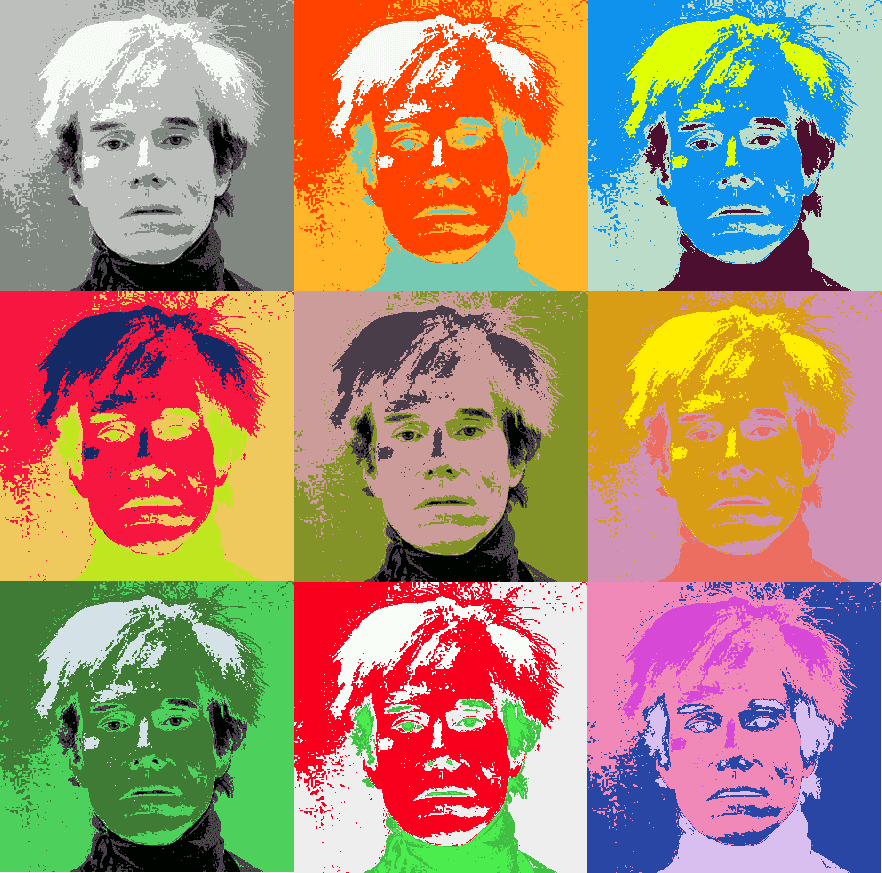 andy warhol images - 882×873