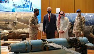 Koalisi Arab Dan AS Ungkapkan Senjata Iran Digunakan untuk Memerangi Arab Saudi