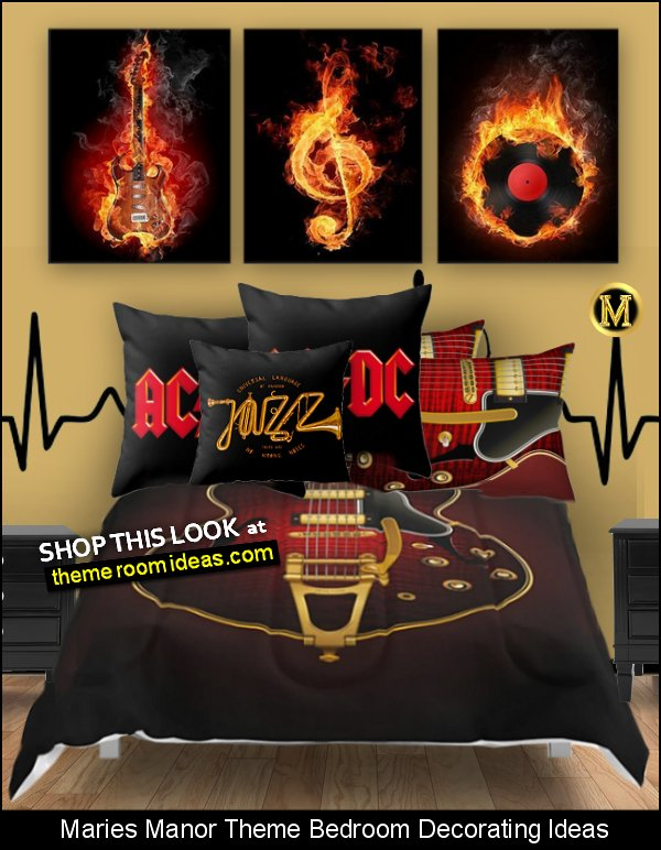 music bedding music wall art music bedroom decor music bedroom decorating ideas music pillows - music comforters