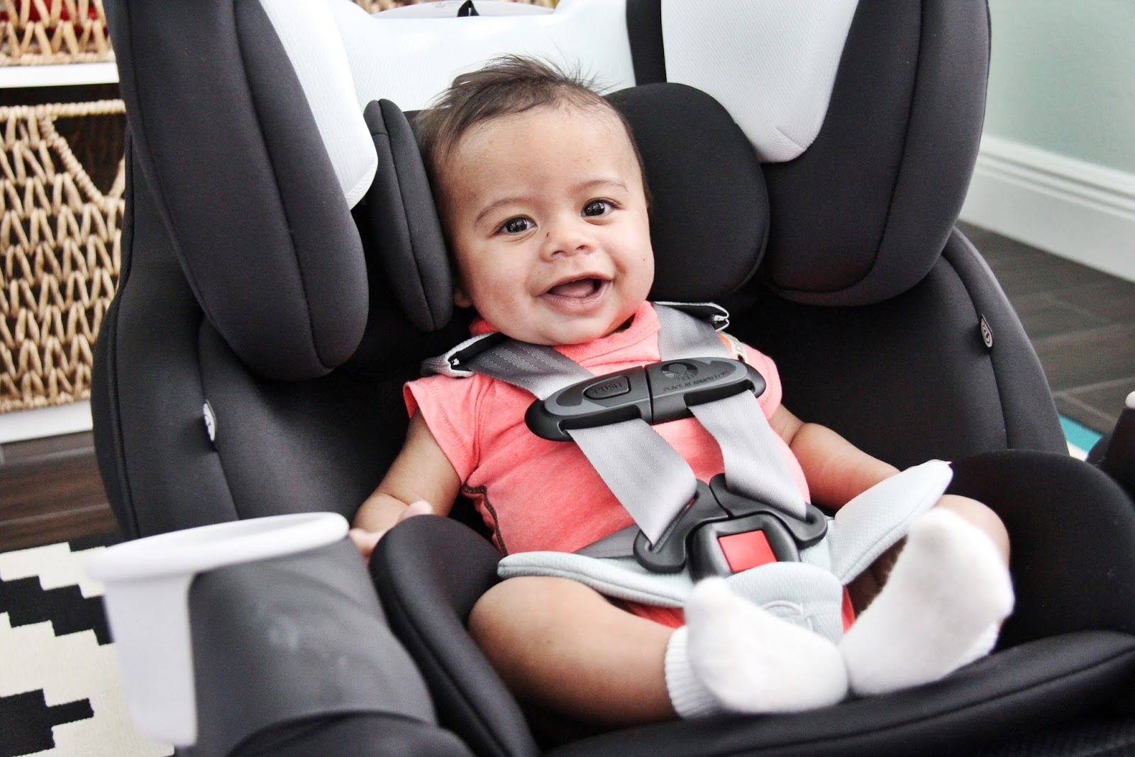 Testing Out The Evenflo SafeMax All In One Car Seat Before We Put It