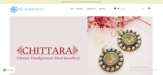 silver jewerly online shopping