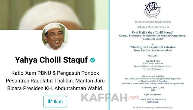 Anggota Wantimpres Jokowi ke Israel, Palestina dan Umat Islam Kecewa