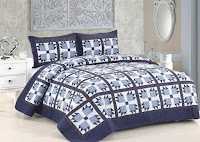 Blue Whitney Quilt Set