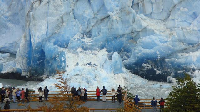 Día del Medioambiente, Pasarela sobre Glaciar Perito Moreno