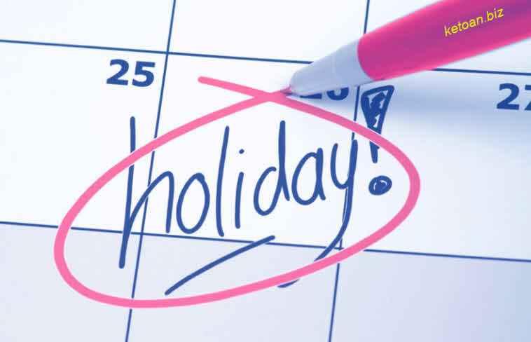 chưa nghỉ hết ngày nghỉ hằng năm sẽ không được công ty chi trả tiền lương cho những ngày chưa nghỉ.