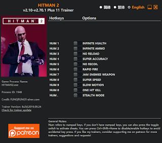 Download Hitman 2 Trainer