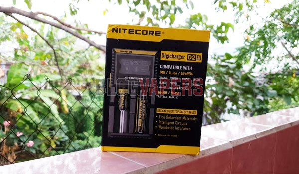 Review Charger Nitecore Digicharger D2EU