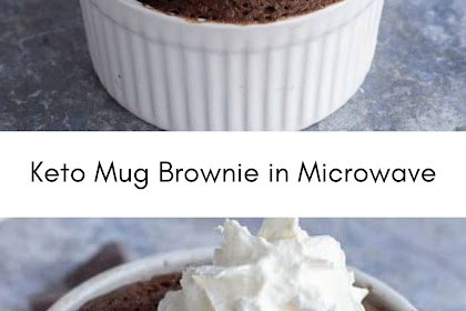 Keto Mug Brownie in Microwave