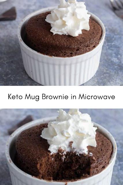 Keto Mug Brownie in Microwave