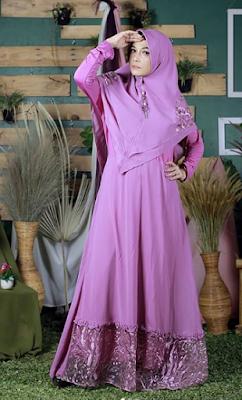 Model Baju Gamis Syar'i Terbaru 2019
