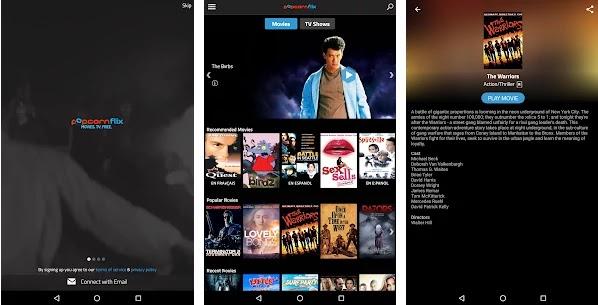 كيفية مشاهدة افلام مدفوعة اون لاين مجانا مع PopcornFlix
